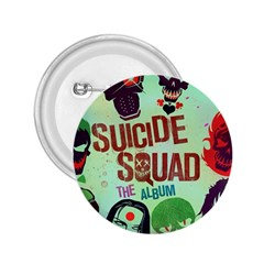 Panic! At The Disco Suicide Squad The Album 2 25  Buttons by Onesevenart