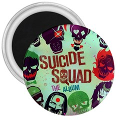 Panic! At The Disco Suicide Squad The Album 3  Magnets by Onesevenart