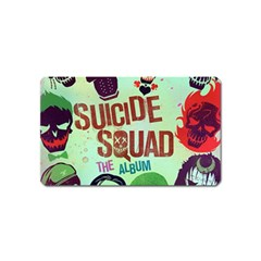 Panic! At The Disco Suicide Squad The Album Magnet (name Card) by Onesevenart