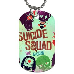 Panic! At The Disco Suicide Squad The Album Dog Tag (two Sides) by Onesevenart