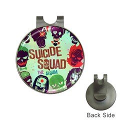 Panic! At The Disco Suicide Squad The Album Hat Clips With Golf Markers by Onesevenart
