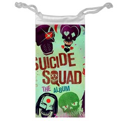 Panic! At The Disco Suicide Squad The Album Jewelry Bag by Onesevenart