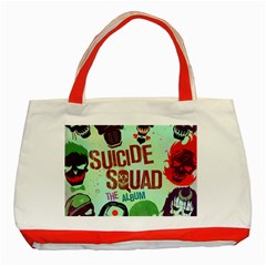 Panic! At The Disco Suicide Squad The Album Classic Tote Bag (red) by Onesevenart
