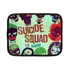 Panic! At The Disco Suicide Squad The Album Netbook Case (small)  by Onesevenart