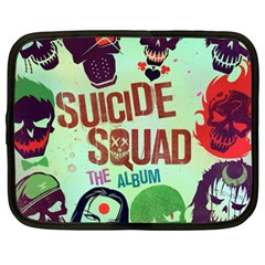 Panic! At The Disco Suicide Squad The Album Netbook Case (xxl)  by Onesevenart