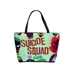 Panic! At The Disco Suicide Squad The Album Shoulder Handbags by Onesevenart