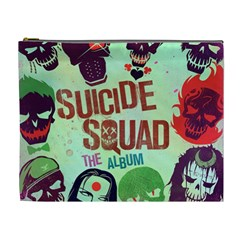Panic! At The Disco Suicide Squad The Album Cosmetic Bag (xl) by Onesevenart