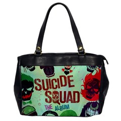 Panic! At The Disco Suicide Squad The Album Office Handbags by Onesevenart