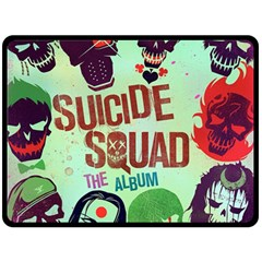 Panic! At The Disco Suicide Squad The Album Fleece Blanket (large)  by Onesevenart