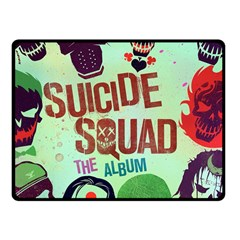 Panic! At The Disco Suicide Squad The Album Fleece Blanket (small) by Onesevenart