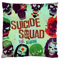 Panic! At The Disco Suicide Squad The Album Large Cushion Case (two Sides) by Onesevenart