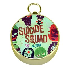 Panic! At The Disco Suicide Squad The Album Gold Compasses by Onesevenart