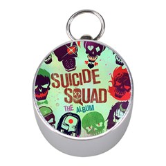 Panic! At The Disco Suicide Squad The Album Mini Silver Compasses by Onesevenart