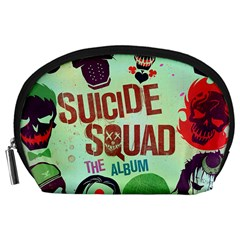 Panic! At The Disco Suicide Squad The Album Accessory Pouches (large)  by Onesevenart