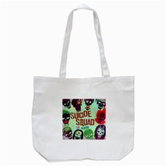 Panic! At The Disco Suicide Squad The Album Tote Bag (white) by Onesevenart