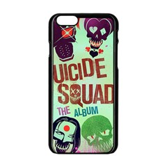 Panic! At The Disco Suicide Squad The Album Apple Iphone 6/6s Black Enamel Case by Onesevenart