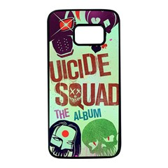 Panic! At The Disco Suicide Squad The Album Samsung Galaxy S7 Black Seamless Case by Onesevenart