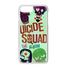 Panic! At The Disco Suicide Squad The Album Apple Iphone 7 Plus White Seamless Case by Onesevenart