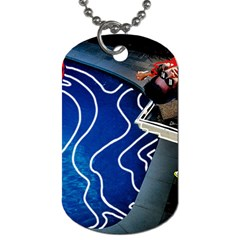 Panic! At The Disco Released Death Of A Bachelor Dog Tag (one Side) by Onesevenart