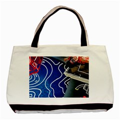 Panic! At The Disco Released Death Of A Bachelor Basic Tote Bag (two Sides) by Onesevenart