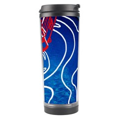 Panic! At The Disco Released Death Of A Bachelor Travel Tumbler by Onesevenart