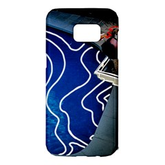 Panic! At The Disco Released Death Of A Bachelor Samsung Galaxy S7 Edge Hardshell Case by Onesevenart