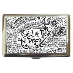 Panic! At The Disco Lyric Quotes Cigarette Money Cases by Onesevenart