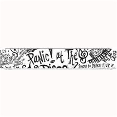 Panic! At The Disco Lyric Quotes Small Bar Mats by Onesevenart