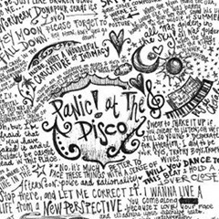 Panic! At The Disco Lyric Quotes Magic Photo Cubes by Onesevenart