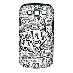 Panic! At The Disco Lyric Quotes Samsung Galaxy S Iii Classic Hardshell Case (pc+silicone) by Onesevenart