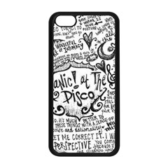 Panic! At The Disco Lyric Quotes Apple Iphone 5c Seamless Case (black) by Onesevenart