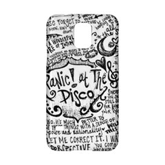 Panic! At The Disco Lyric Quotes Samsung Galaxy S5 Hardshell Case  by Onesevenart