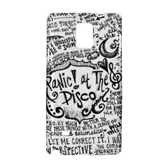 Panic! At The Disco Lyric Quotes Samsung Galaxy Note 4 Hardshell Case by Onesevenart