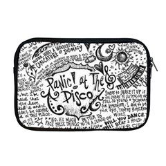 Panic! At The Disco Lyric Quotes Apple Macbook Pro 17  Zipper Case by Onesevenart