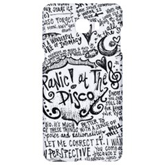 Panic! At The Disco Lyric Quotes Samsung C9 Pro Hardshell Case  by Onesevenart