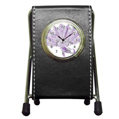 Panic At The Disco Pen Holder Desk Clocks by Onesevenart