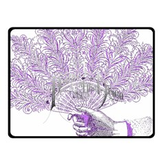 Panic At The Disco Double Sided Fleece Blanket (small)  by Onesevenart