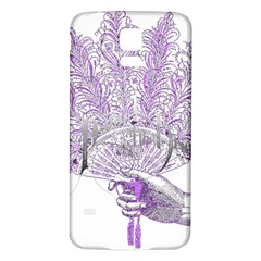 Panic At The Disco Samsung Galaxy S5 Back Case (white) by Onesevenart