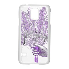 Panic At The Disco Samsung Galaxy S5 Case (white) by Onesevenart