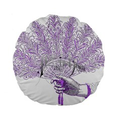 Panic At The Disco Standard 15  Premium Flano Round Cushions by Onesevenart