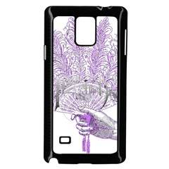 Panic At The Disco Samsung Galaxy Note 4 Case (black) by Onesevenart