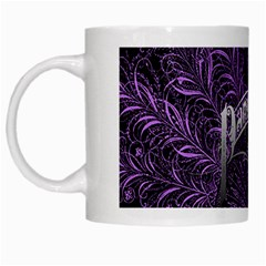 Panic At The Disco White Mugs by Onesevenart