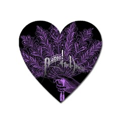 Panic At The Disco Heart Magnet by Onesevenart
