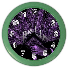 Panic At The Disco Color Wall Clocks by Onesevenart