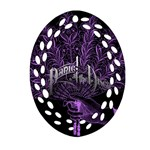 Panic At The Disco Oval Filigree Ornament (Two Sides)