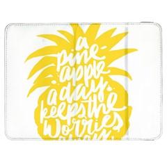 Cute Pineapple Yellow Fruite Samsung Galaxy Tab 7  P1000 Flip Case by Mariart