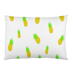 Cute Pineapple Fruite Yellow Green Pillow Case by Mariart