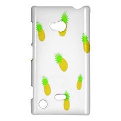 Cute Pineapple Fruite Yellow Green Nokia Lumia 720 by Mariart