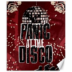 Panic At The Disco Poster Canvas 8  X 10  by Onesevenart