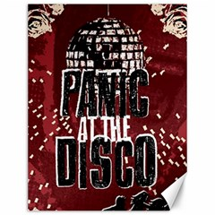 Panic At The Disco Poster Canvas 12  X 16   by Onesevenart